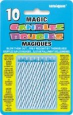 Blue Magic Re-Light Birthday Cake Candles